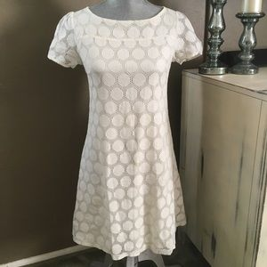 H&M Vanilla Lace/Crochet Dress